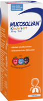 MUCOSOLVAN Kindersaft 30 mg/5 ml